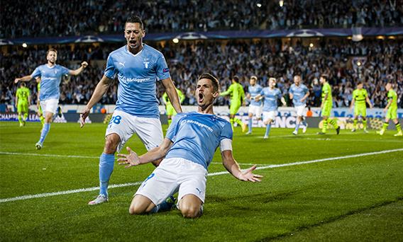 Malmo klart for champions league