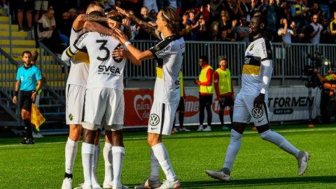 Henok Goitoms dubbla baljor fällde avgörandet när AIK spelade sin 30 e raka  allsvenska match utan att förlora. 230f35318b486